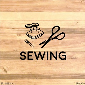 収納便利❤︎裁縫類はこちらステッカーシール❤︎