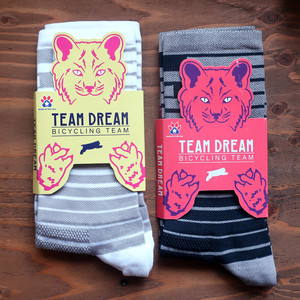 TEAM DREAM TEAM / Space Bar Contrast Series Sock