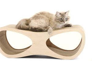 Cat Lounge Scratcher by Miglio Design from Poland