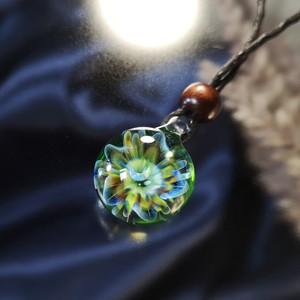 かわいい花のペンダント00414/【フローラ】[試作品]