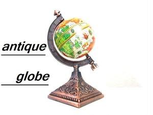 ヨーロッパアンティーク調オブジェ  地球儀B 模型