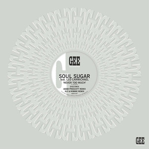 "【残りわずか/12""】SOUL SUGAR (feat. LEONARDO CARMICHAEL) - NEVER TOO MUCH Remix (incl. special versions by SLY & ROBBIE and ADAM PRESCOTT)"