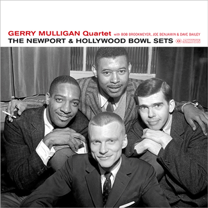 【新品LP】Gerry Mulligan Quartet With Bob Brookmeyer, Joe Benjamin & Dave Bailey / The Newport & Hollywood Bowl Sets