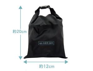 【2021年モデル】up-mark-sam 持ち運び&保管に困らない!折りたたみ傘カバーtakenoco mini(たけのこみに)【防水収納ケース付き】