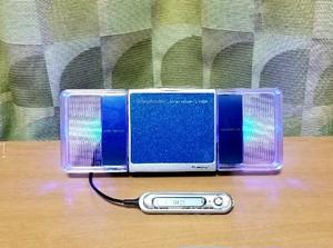 MDポータブルプレーヤー Panasonic SJ-MJ500 -B MDLP 綺麗な完動品