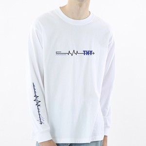 "【Tシャツ】""This ahead is...?""LONG SLEEVE TEE"