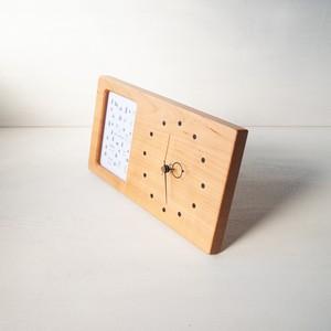 木の時計&フォトフレーム No28 | 山桜