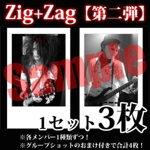 【チェキ・3枚1組】Zig+Zag(第二弾)
