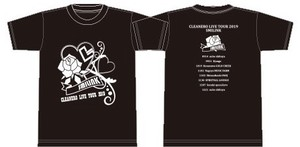 CLEANERO LIVE TOUR 2019 -SMILINK- Tシャツ黒