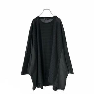 Wide-T-shirts (black)