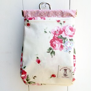 わんぽポーチ Lサイズ Rose [wanL023]
