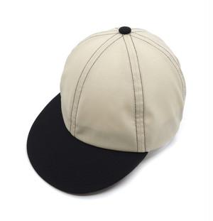 """velo spica international"" Flip Up B Caps merino wool col.Classico Beige"