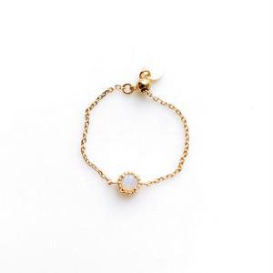 opal chain ring