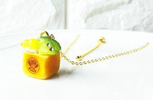 【CHITTO】no.a0110203  ミニハニートーストネックレス(メロン)