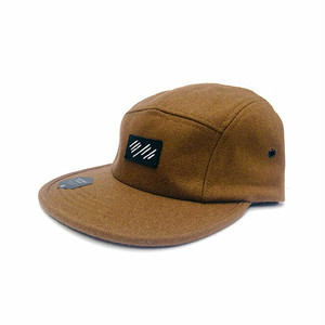 scar /////// BLOOD WOOL CAMP CAP (Brown)