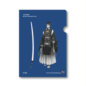 クリアファイル【三日月宗近】studio仕組×刀剣乱舞-ONLINE-コラボ