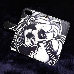 GiMME(ギミー) / iPhone7 case / Skull ( 手帳 type )