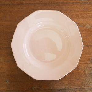 St-amand(サンタマン)のサーモンピンク平皿