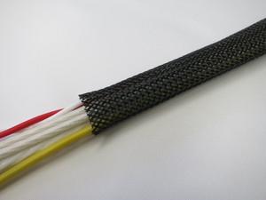 スルーチューブ 6-24Φ 配線保護・結束チューブ 難燃性 切売り1m