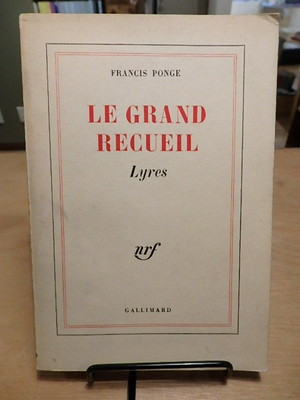 LE GRAND RECUEIL Lyres / Francis Ponge (フランシス ポンジュ)
