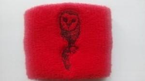 竹田誠志選手オフィシャルリストバンド『OWL 12号』(レッド)