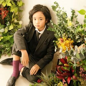 キッズタキシード キッズスーツ レンタル【TX15】18434 ブランドスーツ Sugar Kei  男の子スーツ 9歳 10歳 11歳 結婚式 発表会 男の子スーツ