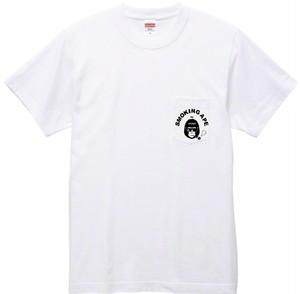 SMOKING APE ポケット付Tシャツ