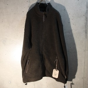 Zip Up High-Necked Fleece Jacket