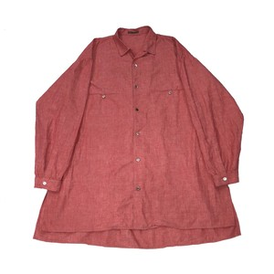 Y'S FOR MEN OVER SIZED COTTON SHIRT