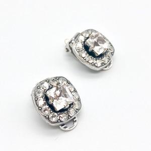 イヤリング スクエア クラシック クリスタル KRiKOR ドイツ製 Earring Square Classic Crystal