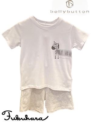 【belly button】子供Tシャツ+パンツset(831-461B)
