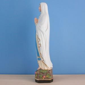ルルドの聖母像【33cm】室内用カラー仕上げ
