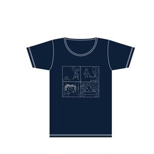 佐藤画伯の4コマTシャツ 宇宙人編 ※Sサイズのみ