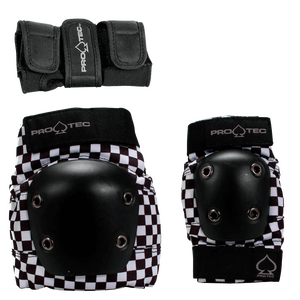 STREET / SKATE Jr. 3-PACK | BLACK CHECKER