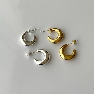 Silver925 crema pierced 0231