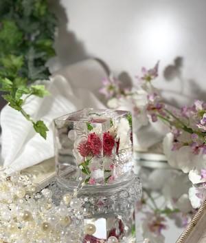 クリアキューブ 花束