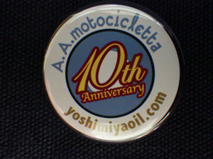 10th Anniversary Badge/32ø #01