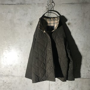 [Burberry]charcoal nova  check jacket