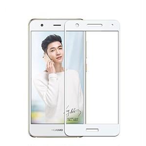 Huawei Nova 全面カバー硬度9H フィルム 強化ガラス 液晶保護フィルム ホワイト ( 硬度9H液晶保護ガラス*1 & ドライ・ウェットミニクロス*1 & 埃取りシール*1 )