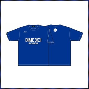 HACHINOHE DIME オリジナルTシャツ BLUE
