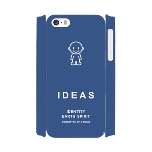 IDEAS/iPhone5/5s/SEケース 800-ネイビー