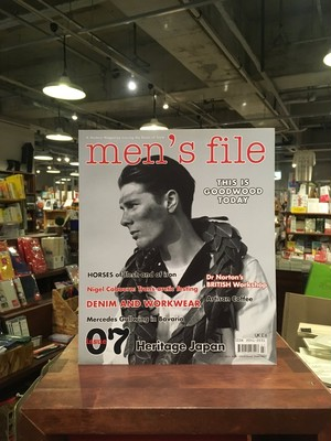 【洋雑誌】men's file magazine issue07