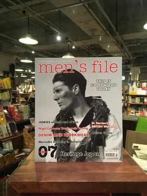 【洋雑誌】men's file magazine issue07