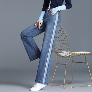 【bottoms】 配色ハイウエストファッションガウチョパンツ27010929