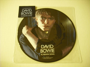 "【7"" PICTURE DISC】DAVID BOWIE / ALABAMA SONG"