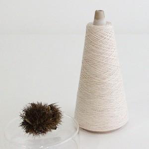 【天然草木染・屋久杉・栗染 (YB)】綿糸 (117g)
