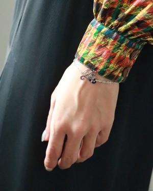 Christian Dior silver tone bracelet