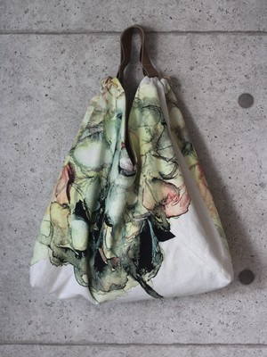 ROMIMAYA  あじさい [FUROSHIKI Shoulder bag ] M