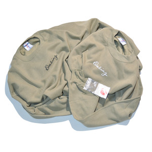New★ DUBING!! Draw SET-IN SLEEVE Sweat(SAND body)