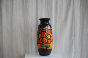 Vintage Ceramic Vase by Scheurich West Germany 1960-70S